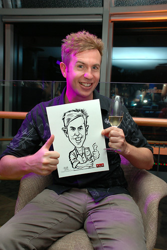 Caricature live sketching for TLC - 19