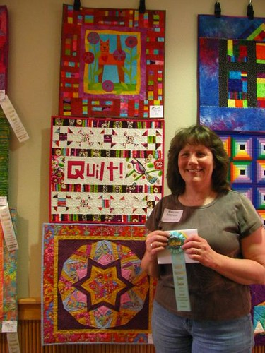 1st Annual Small Wonders Quilt Challenge Reception