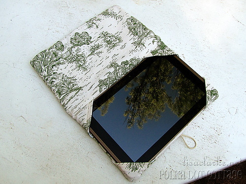 Tablet in the cover