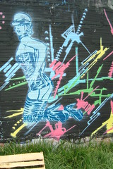 LATEX-FETISCH (Assi-one) Tags: street art sex graffiti el latex culo tetas sado pochoir locura schablonen minuto chocho fetisch assi maso tuya bogots culeo pervercion