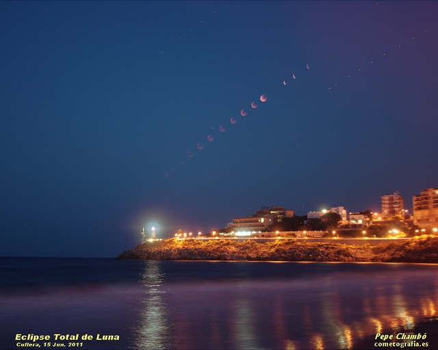 Total Lunar Eclipse on 2011
