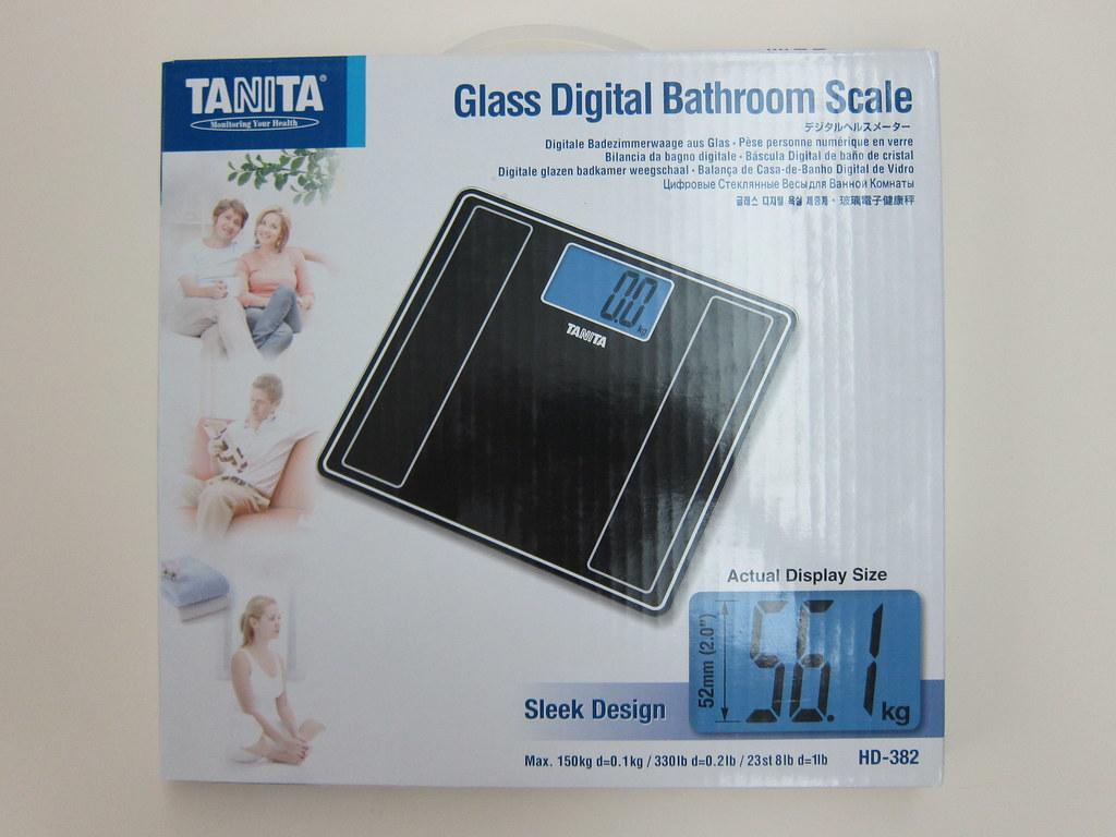 Tanita bathroom scales - Tanita Bathroom Scales 4