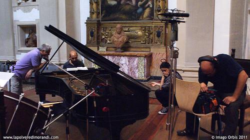 La polvere di Morandi / Giorgio Morandi's Dust | Backstage Soundtrack Recording #21