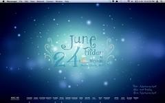 Blue Fantasy (kimzyville) Tags: desktop blue fantasy geektool customization