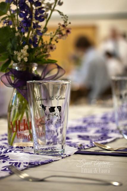 Glasses and Milk Bottles