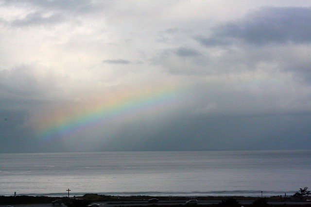 Rainbow, Monterey Bay
