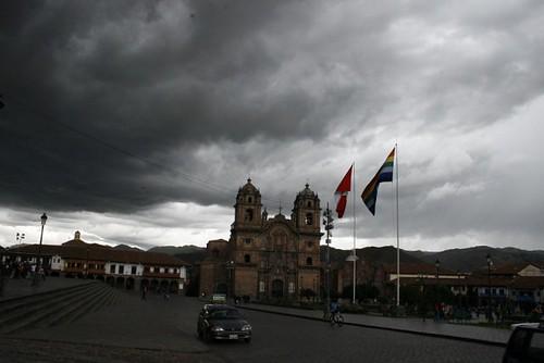 Cusco lluvia