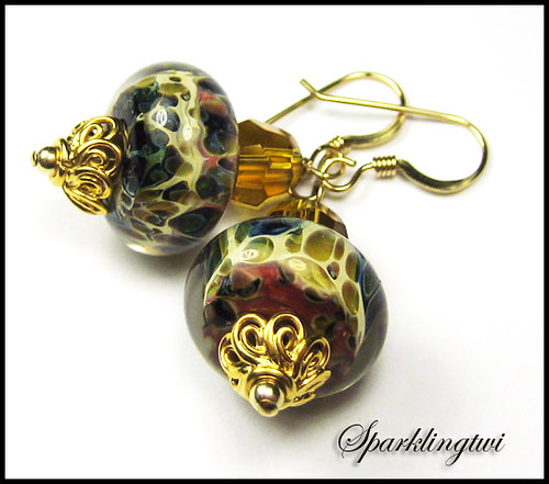 Santana Gold Earrings SOLD