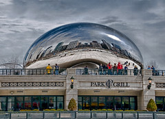 Park Grill (iceman9294) Tags: chicago illinois professional millenniumpark cloudgate anishkapoor chriscoleman d300 firstquality parkgrill mywinners aplusphoto excellentphotographerawards iceman9294 nikond300 world100f