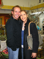 Glenn and Lisa at Tinsel Trading!