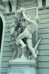 Vienna (Wien) - Hofburg - Labors of Hercules (Nemean Lion) (jrozwado) Tags: vienna wien austria sterreich europe lion palace unescoworldheritage hercules hofburg labors heracles