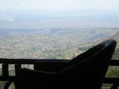 Au dessus de Karamoja