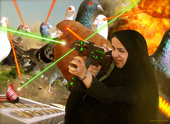 The Hijabi Heroines take on the Intergalactic dOve Invaders (perfectlymadebirds) Tags: travel pakistan art speed star drive robot high ship tech space hijab ufo aliens gravity desi pakistani starfleet spaceship planetary hyper anti intergalactic naan ufos punjabi galactic pathan salwar spaceage kameez awesom dhol pathans dast perfectlymadebirds zabber