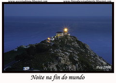 "NOITE NA FIN DO MUNDO (""Pau"") Tags: lighthouse faro nocturna pau finisterre costadamorte fisterra abigfave betterthangood 20tfnocturna"