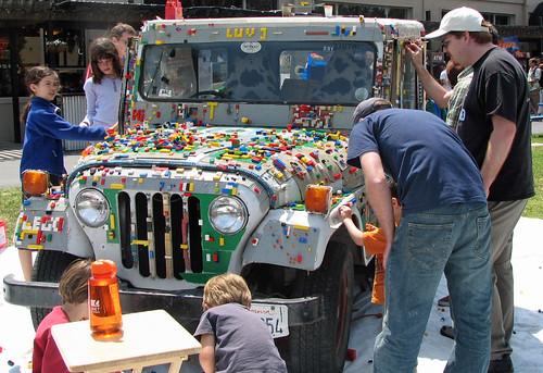 Lego Jeep