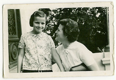 Grandmother and mom, 1960?