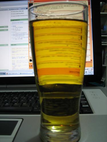 with 4 parts Tao Ti Green Tea