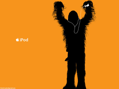 Chewbacca_iPod_ad_by_hitokirivader