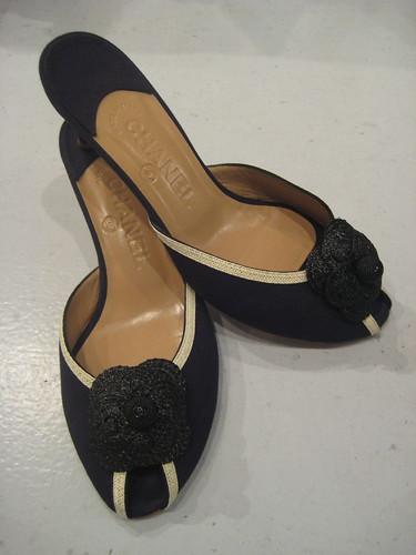 Chanel Linen Sandal