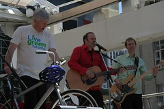 Mayor Miller, Chris McKhool and Guitarist