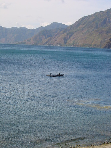 Dugout Canoes on Lake Atitlan