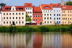 Colored Houses (Tobi_2008) Tags: houses river nikon searchthebest poland polska polen colored sensational fluss reflexions soe farbig zgorzelec huser neisse d40 supershot fineartphotos golddragon anawesomeshot diamondclassphotographer flickrdiamond ysplix excellentphotographerawards overtheexcellence colourartaward artlegacy coloursplosion goldstaraward funfanphotos