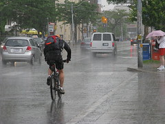 Day 170: Biking in the rain