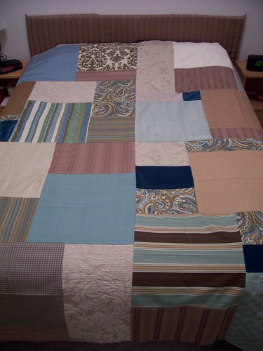 Modern Quilt in Progress