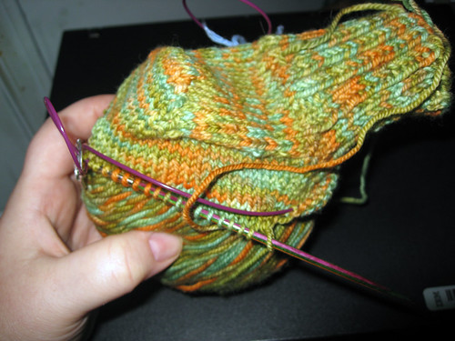 first sock take 2