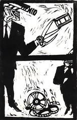 Al rogo! Al rogo! (Per il bene del Paese) (Sospensorio) Tags: italy black illustration ink carved comic italia drawing carving printing deborah linoleum mills giugno 2008 silvio vauro nero satira silvioberlusconi disegno berlusconi politica censura italiani processo inchiostro rogo incisione destra pdl fumetto politichese stampa cattaneo giornalisti illustrazione crespi bergamini intercettazioni ghigno ddl marcotravaglio belpaese fnsi annozero macero italioti sacc adigraf telefonate italietta censori delnoce salvapremier emendamento ricusazione vaurosenesi