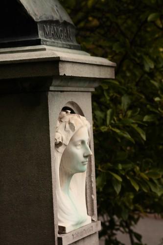 James Clarence Mangan Pedestal