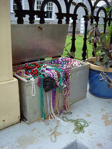 beads trunk treasure chest