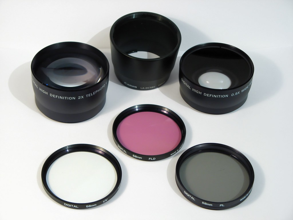 Objetivos y filtros / Lens and Filters