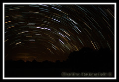 My 1st Star Trail... ;) (charithra Hettiarachchi) Tags: trees light sky lines night dark stars nightsky srilanka soe startrails blueribbonwinner udawalawa canoneos400d charithrahettiarachchi slpweekendchallengewinner