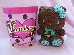 WISHLIST: Mint Chocolate Momoberry Hello Kitty Plush ( Veronica ) Tags: hellokitty sanriohellokittysanrio