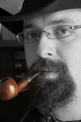Charatan Pipe (Jack Shainsky) Tags: portrait me pipes pipe