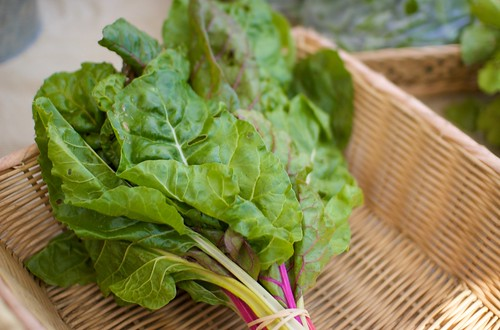 Swiss Chard at the Farmers Market (take home)