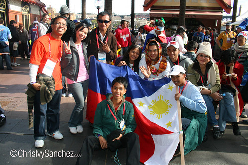 Filipino Delegates in WYD08