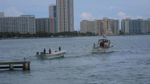 Coast Guard target practice