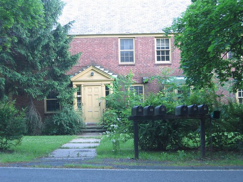 Staff house on Blaisdell Road