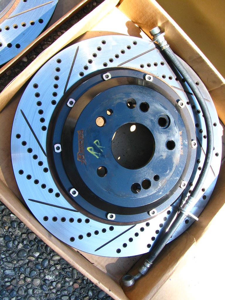Rotora Big Brakes Kit 4 Piston Front And Back Honda Accord Forum Comptech Supercharger For 04 06 Acura Tl 03 07 V6 Needs Modification 3000shipped
