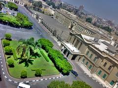 Abdeen Palace (.Rabea.) Tags: camera mobile museum photoshop garden nokia downtown phone flag egypt palace presidential cairo historical hdr photomatix n73 abdeen