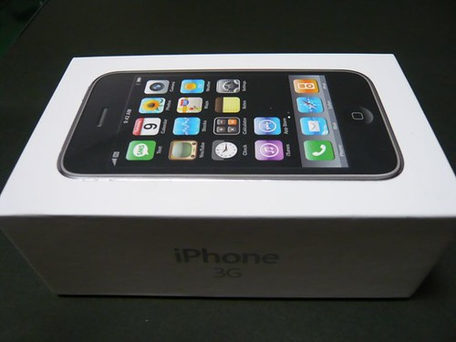 White Box, iPhone 3G 16GB White