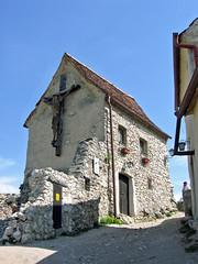 Biserica din Cetatea Rasnov (star.xi) Tags: ruins cross citadel romania fortress rasnov