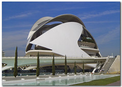 Palace of the Arts, Opera of Valencia, Spain (jmhdezhdez) Tags: city travel bridge copyright espaa abstract building art history tourism water glass valencia architecture river spain opera europe arte edificio hamilton arts engineering ciudad cable f1 ferrari paseo calatrava curve curved alameda alonso soe modernarchitecture raikkonen masa sciences stay agora santiagocalatrava allrightsreserved vidrio espania ciudaddelasartesylasciencias pritzker curving espanya turia arquitecto hormign ingeniera kovalainen ingeniero trencadis principefelipe renaultf1team golddragon abigfave serrera cityoftheartsandsciences ciudaddelasartesylascienciasdevalencia arquitecturacontempornea granpremiof1 httpwwwjmhdezhdezcom contactjmhdezhdezcom josmiguelhernndezhernndez frmula1valencia cityoftheartsandthesciencesofvalence puentedelaserrera wwwjmhdezhdezcom