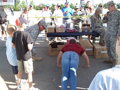 Dave at the National Guard Challange