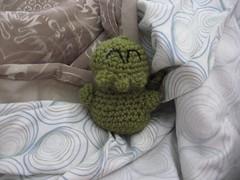 FO: Crochet-thulu