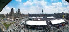 Zócalo (chαblet) Tags: panorama méxico df photowalk worldwidepanorama α100 chablet fotowalkméxico