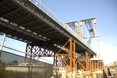 USS Salem park: looking underneath the temporary Fore River Bridge (Chris Devers) Tags: ocean bridge sea building water car museum architecture river ma quincy boat ship unitedstates massachusetts navy vessel maritime vehicle drawbridge salem nautical naval 2008 usnavy weymouth cruiser uss warship coldwar meccano liftbridge shipbuilding erector erectorset quincyma foreriver usssalem heavycruiser foreriverbridge ca139 cameranikond50 forerivershipyard weymouthma exif:flash=flashdidnotfire exif:focal_length=18mm exif:exposure=0002sec1500 exif:aperture=f35 unitedstatesnavalshipbuildingmuseum exif:exposure_bias=06ev camera:make=nikoncorporation exif:iso_speed=220 camera:model=nikond50 meta:exif=1257954903 flickrstats:favorites=1 exif:orientation=horizontalnormal exif:filename=dscjpg meta:exif=1350405609