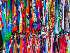 Colourful Dresses (alexander.mussard) Tags: fashion dress market clothes seychelles colourful bazaar